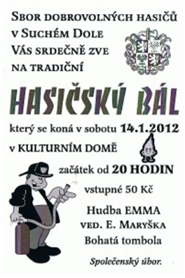 Hasičský Bál 2012